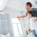 Klimaanlage mit Fernsteuerung