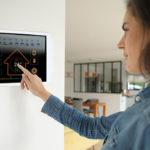 Elektronisch ferngesteuerte Klimaanlage
